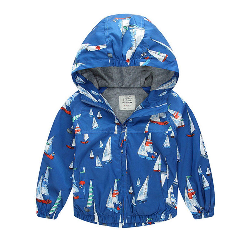 a7575c317833 Felds 100-140Cm2017 Spring Jacket Boys Girls Kids Outerwear Cute ...