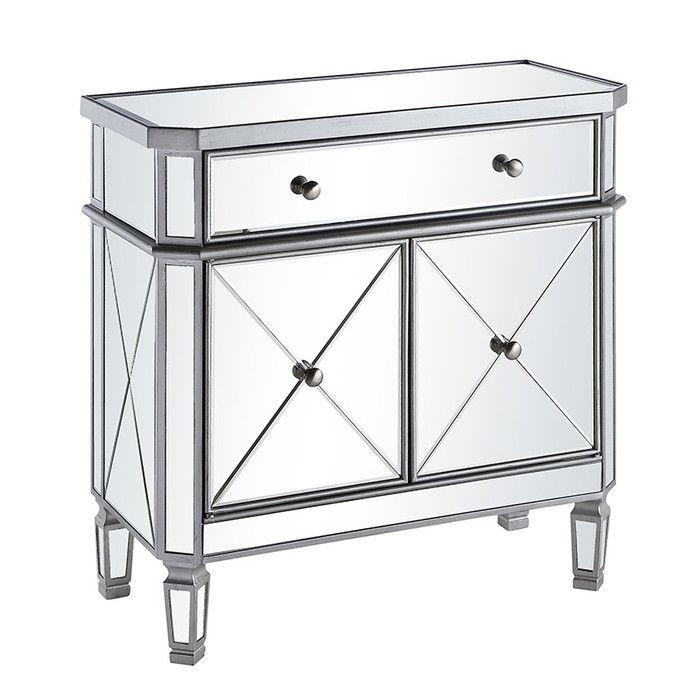 Wildon Home Danville 1 Drawer 2 Door Cabinet Reviews Wayfair