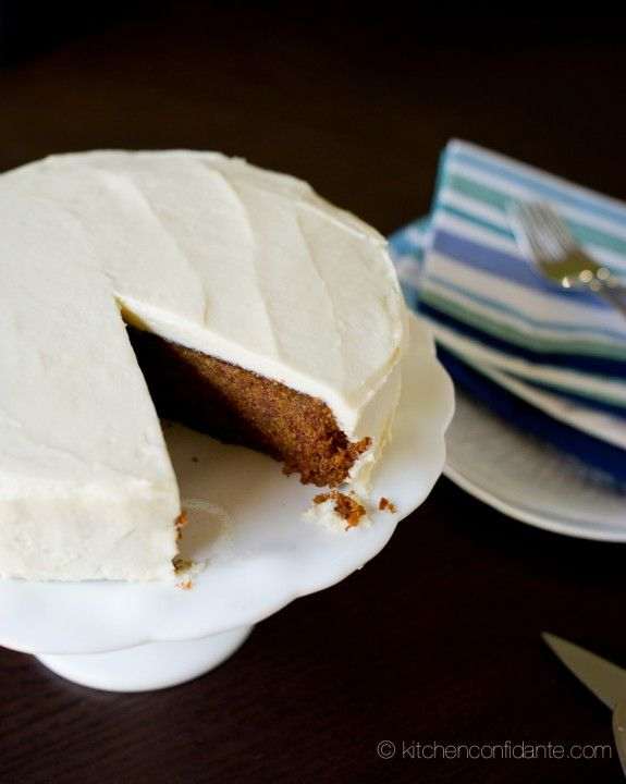 Sweet Potato Cake with Cream Cheese Frosting-6