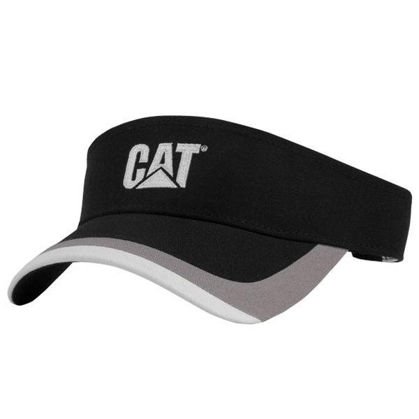 ad8e2fc4dbb CAT Hats - CAT Caps - Caterpillar CAT Black and Yellow Visors