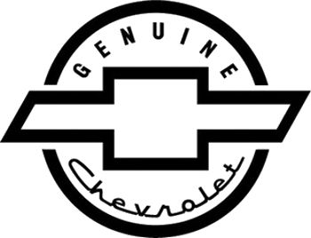 Genuine Chevrolet Decal Old Signs Decals Lettering