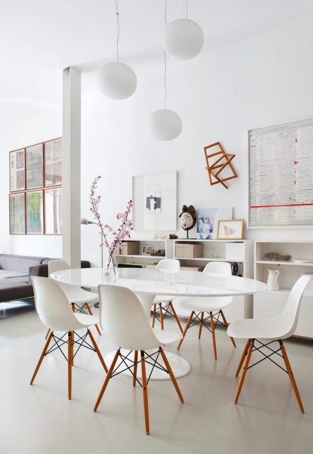 Étkező ovális étkezőasztallal7 - konyha / étkező ötletek, modern ...