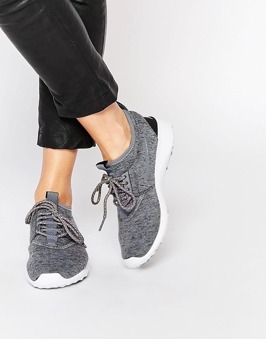 7379f183fb606 Nike | Nike Juvenate TP Gray Sneakers at ASOS Nike Free Runners, Cheap Nike,