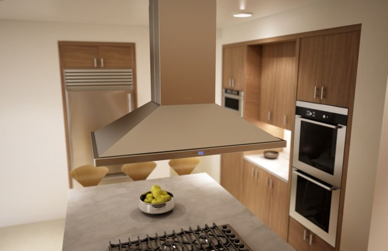 Residential Kitchen Exhaust Hoods And