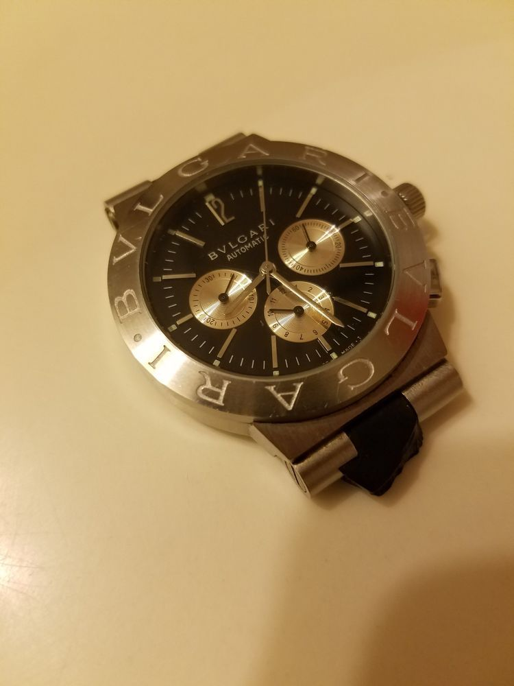 4d65b075670 BVLGARI AUTOMATIC MENS WATCH SD 38 S L 2161 NO BANDS - WORKING ...