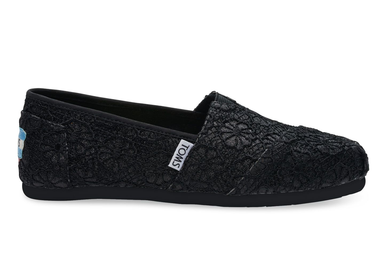 Alpargata - Chaussures De Sport Pour Femmes / Toms Noir FE6N4C63uT