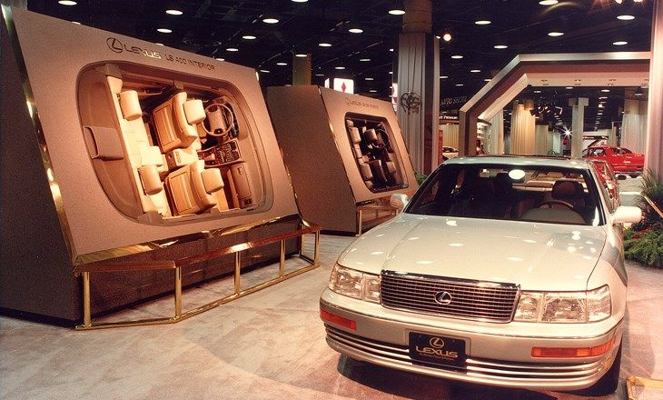 1990 Lexus LS400 auto show display  CARS  Pinterest  Autos and