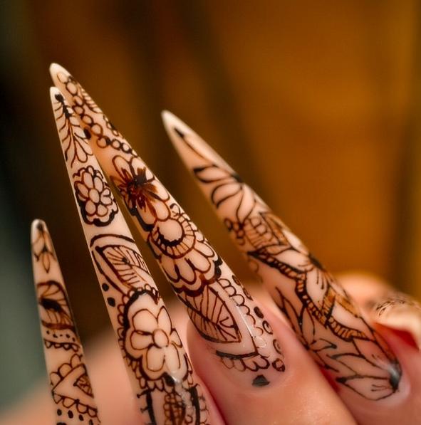 Nail Art Henna: Henna Nails From Nail Career Education
