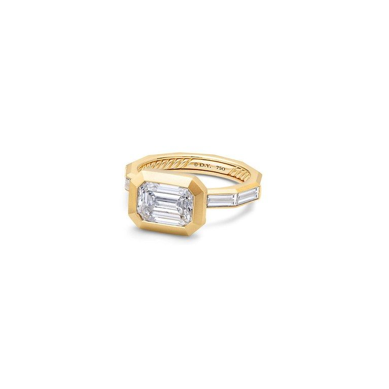 Modern Yet Edgy Engagement Rings