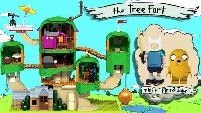 Lego de Adventure Time: um sonho que pode virar realidade