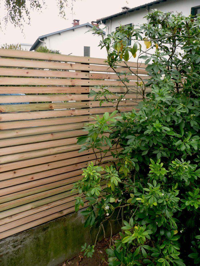 Aménagements bois | Constans Paysage brise vue, clôture bois, claire ...
