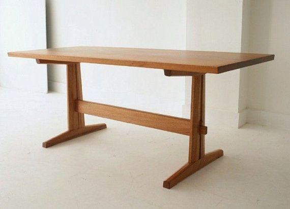Trestle Dining Table Solid Mahogany Trestle Dining Tables Dining Table Patio Furniture Sets
