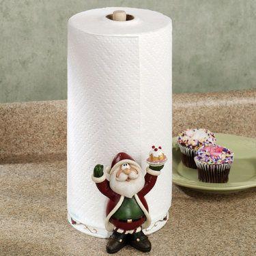 Santa Claus Holiday Paper Towel Holder Holiday Paper Paper Towel Holder Santa Claus