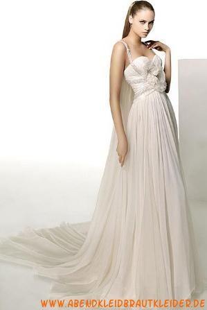 2013 Romantische Brautkleider aus Chiffon Hamburg kaufen online