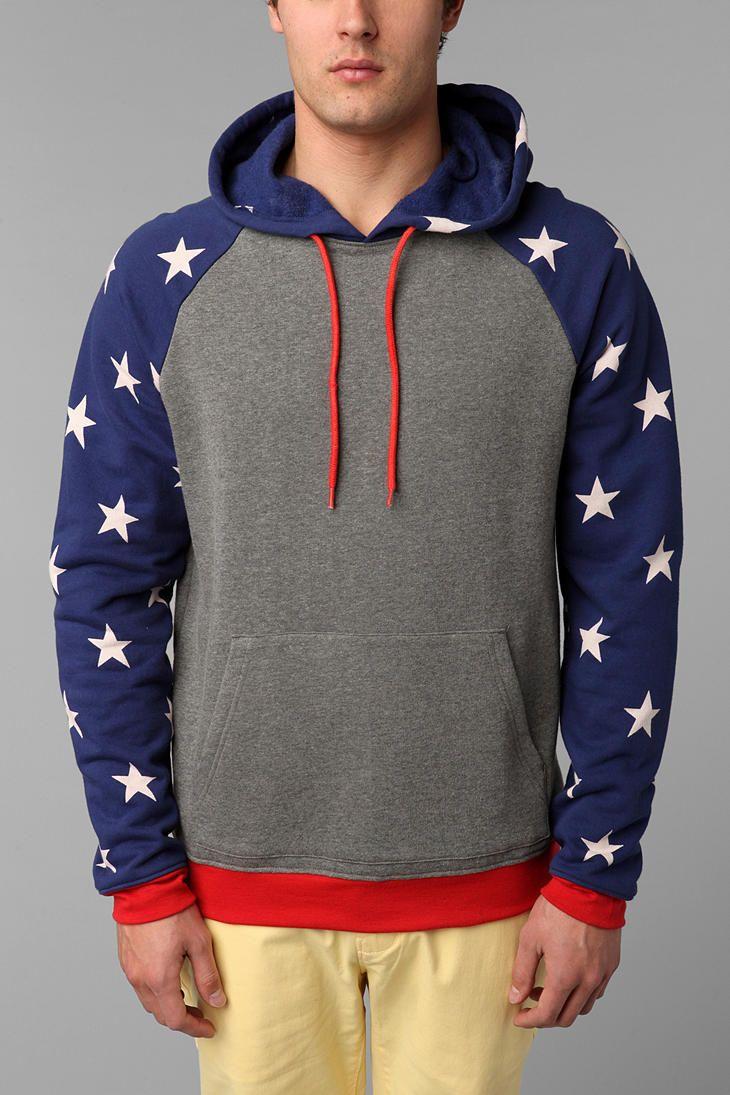 BDG Stars Pullover Hoodie Sweatshirt | Things I love | Pinterest ...