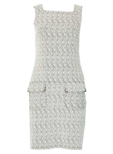 Dorothy Perkins Womens *Izabel london and White Bardot Shift Dress- Get Authentic Sale Online Cheap Sale Deals r1sly9C6hX