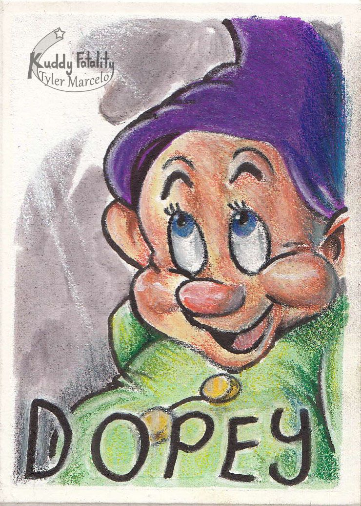 Here's Dopey from Snow White and the Seven Dwarfs. This is