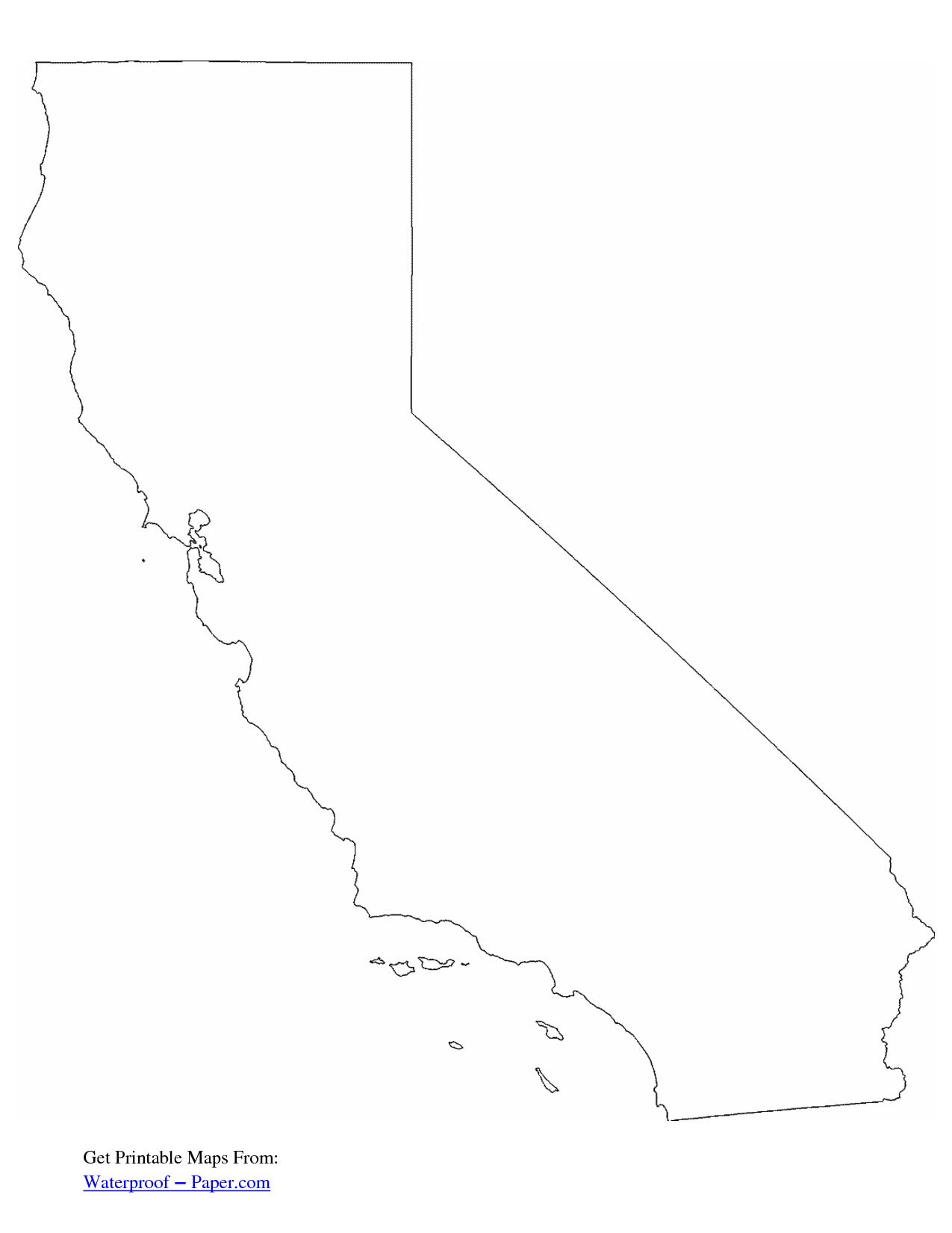 California Free State Printables