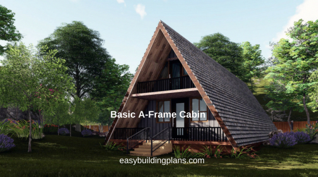 Aframehouse In 2020 A Frame Cabin A Frame House A Frame Cabin Plans
