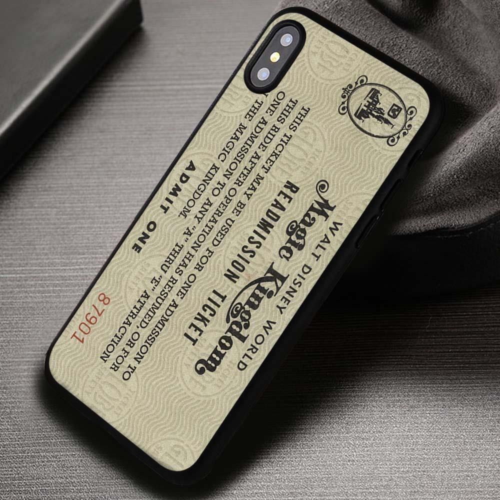 promo code 8b828 7d5c0 Walt Disney World Ticket Vintage Retro - iPhone X 8+ 7 6s SE Cases ...