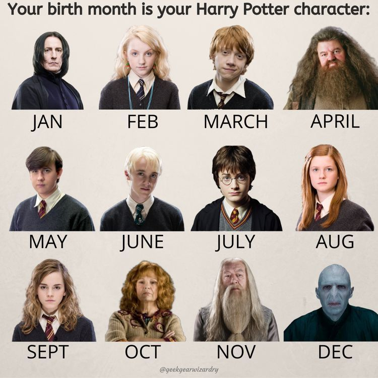 Months Harry Potter Characters Harry Potter Disney Harry Potter