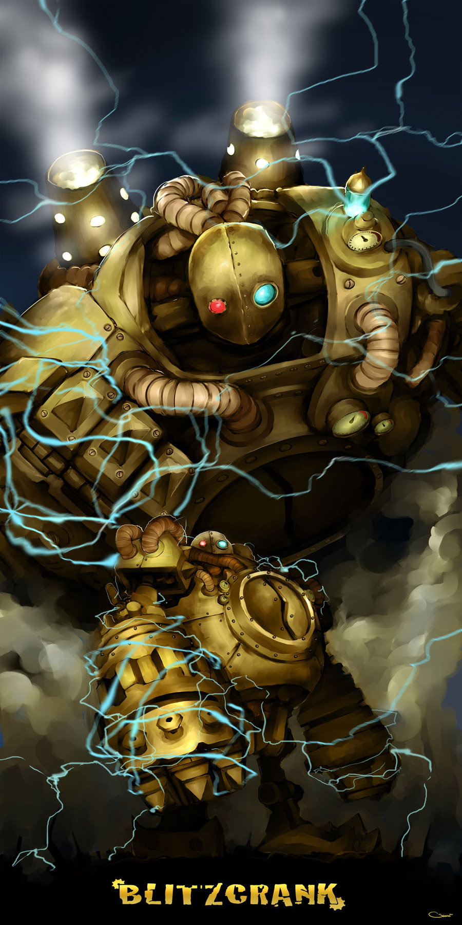 8535fe14c289 Blitzcrank; wouldn't you want to get pulled by this badass? ;D ...