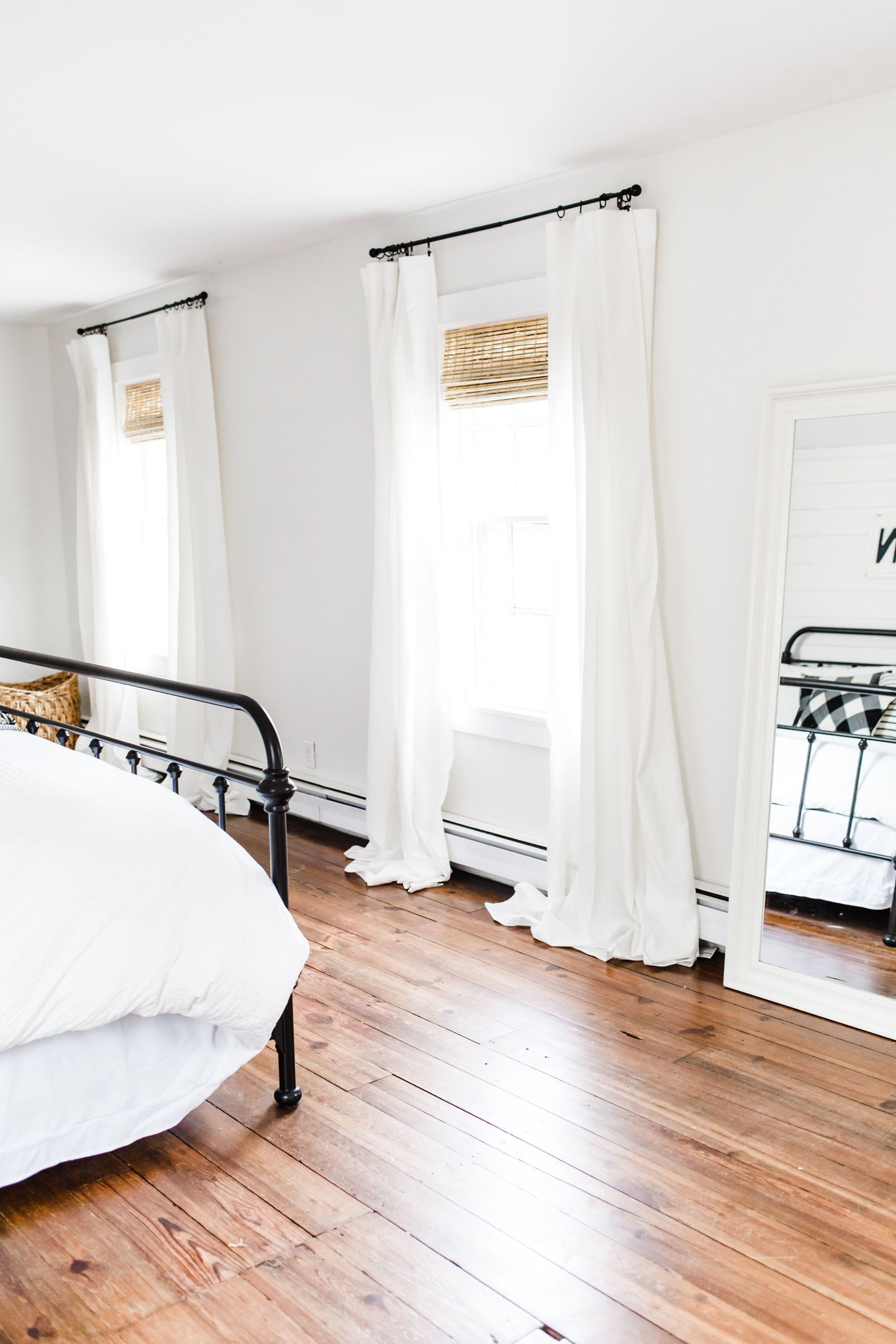 how to transform a space with window treatments (and my