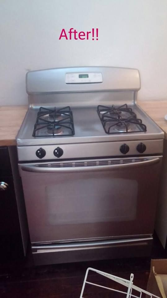 Ever Laid Down To Paint A Stove Ever Painted A Stove Stainless Steel Furniture Stainless Steel Oven Stainless Steel Paint