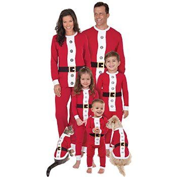a21fce0965  Christmas Want to buy Santa Suit Matching Pajamas for the Whole Family