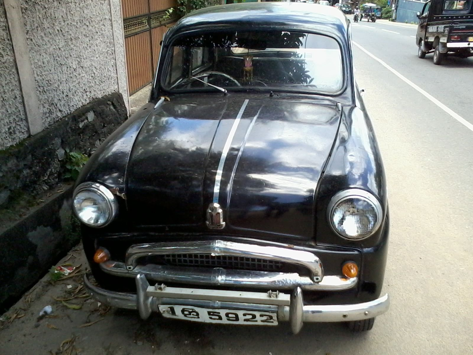 Standard English Car Made in India until the 80s. This was