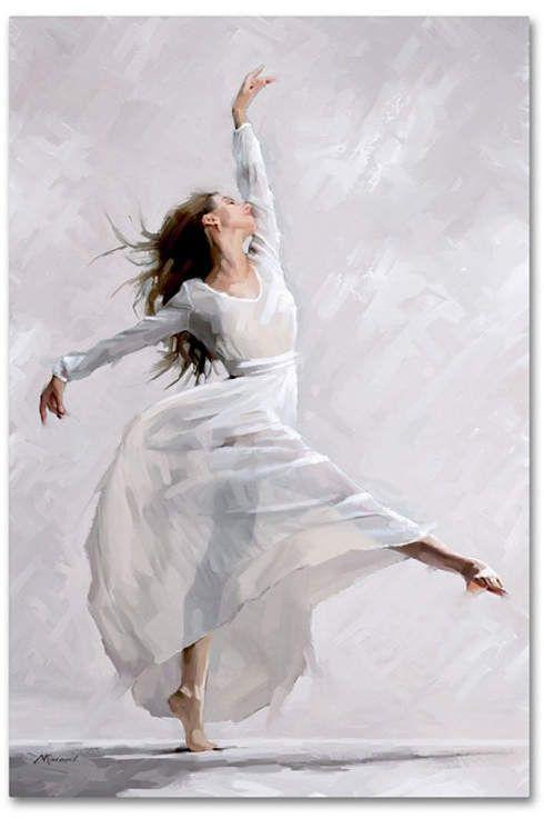 The Macneil Studio Dance of the West Wind Canvas Art – 12  x 19