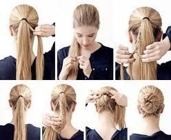 Resultado de imagen para peinados pelo largo