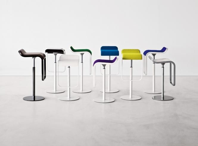 trend --\u003e Lapalma - Möbel / Stühle - Lem fix lackiert Hocker Lapalma - designer mobel materialmix