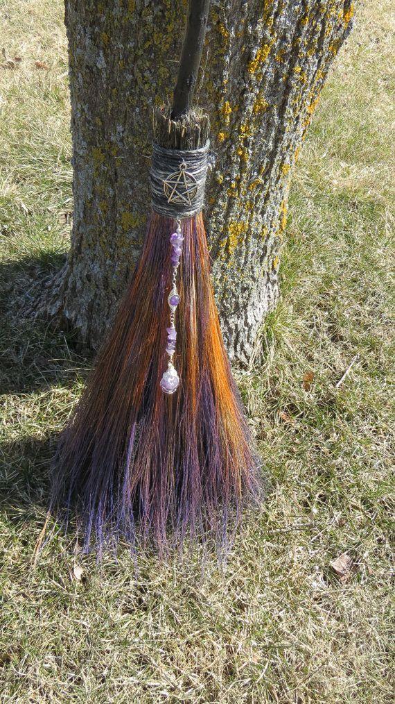 Handfasting broom.
