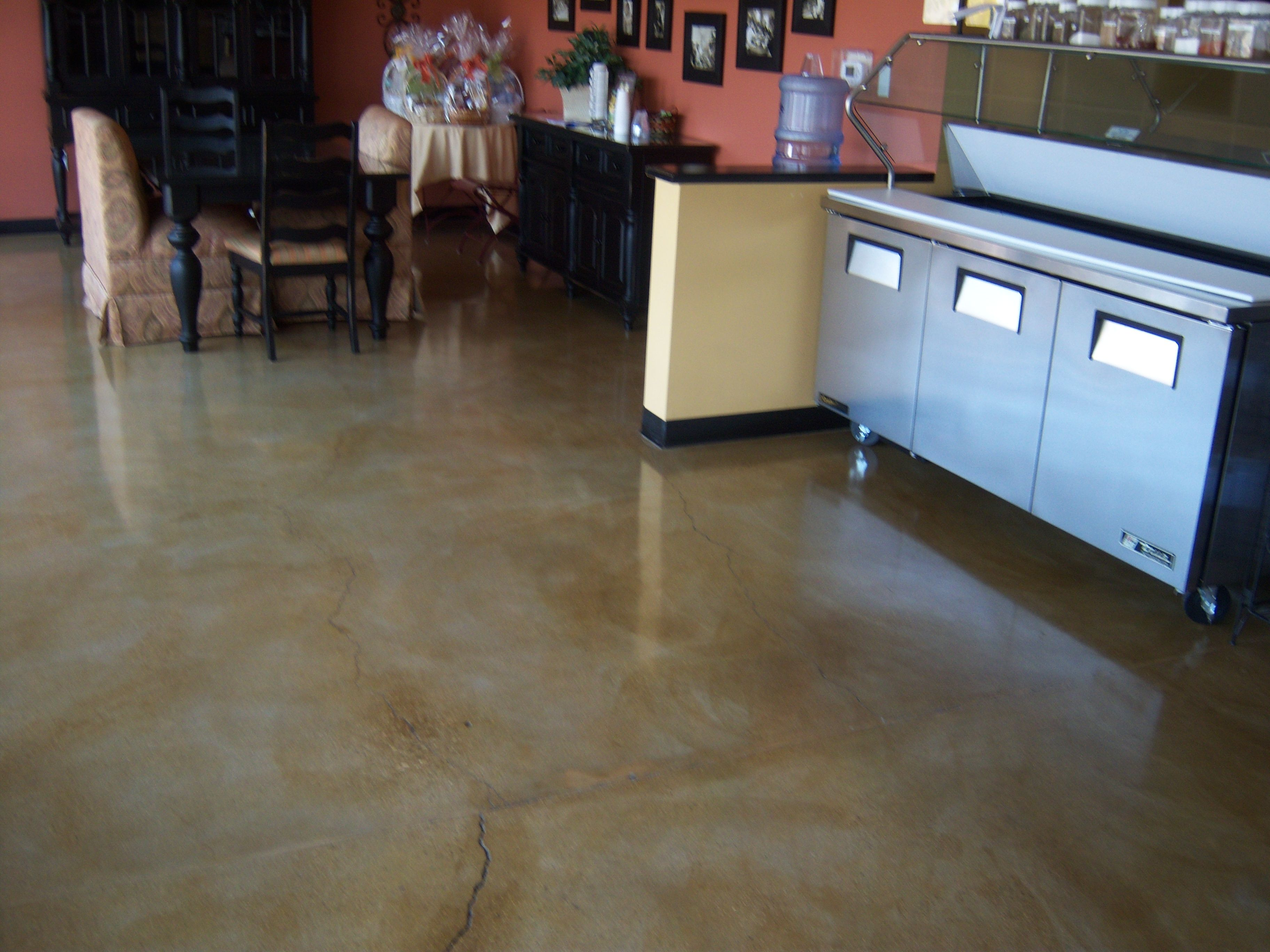 concrete design waters home do stain overlay diy floors encampment innovation floor yourself cement edge it stained finishes