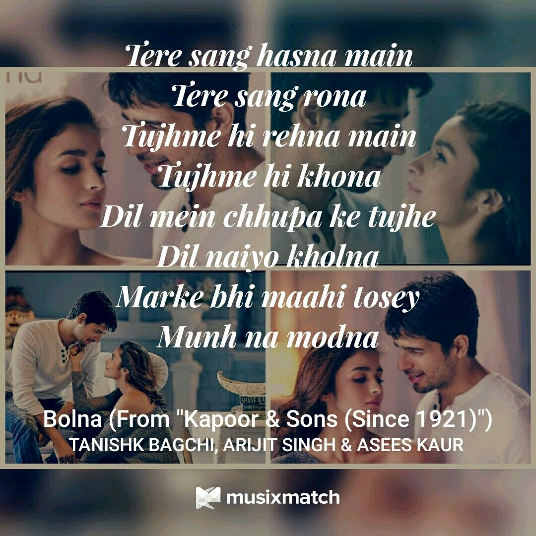 Sun Mere Humsafar Song: Bollywood Quotes Bollywood Songs Song Lyrics Urdu T