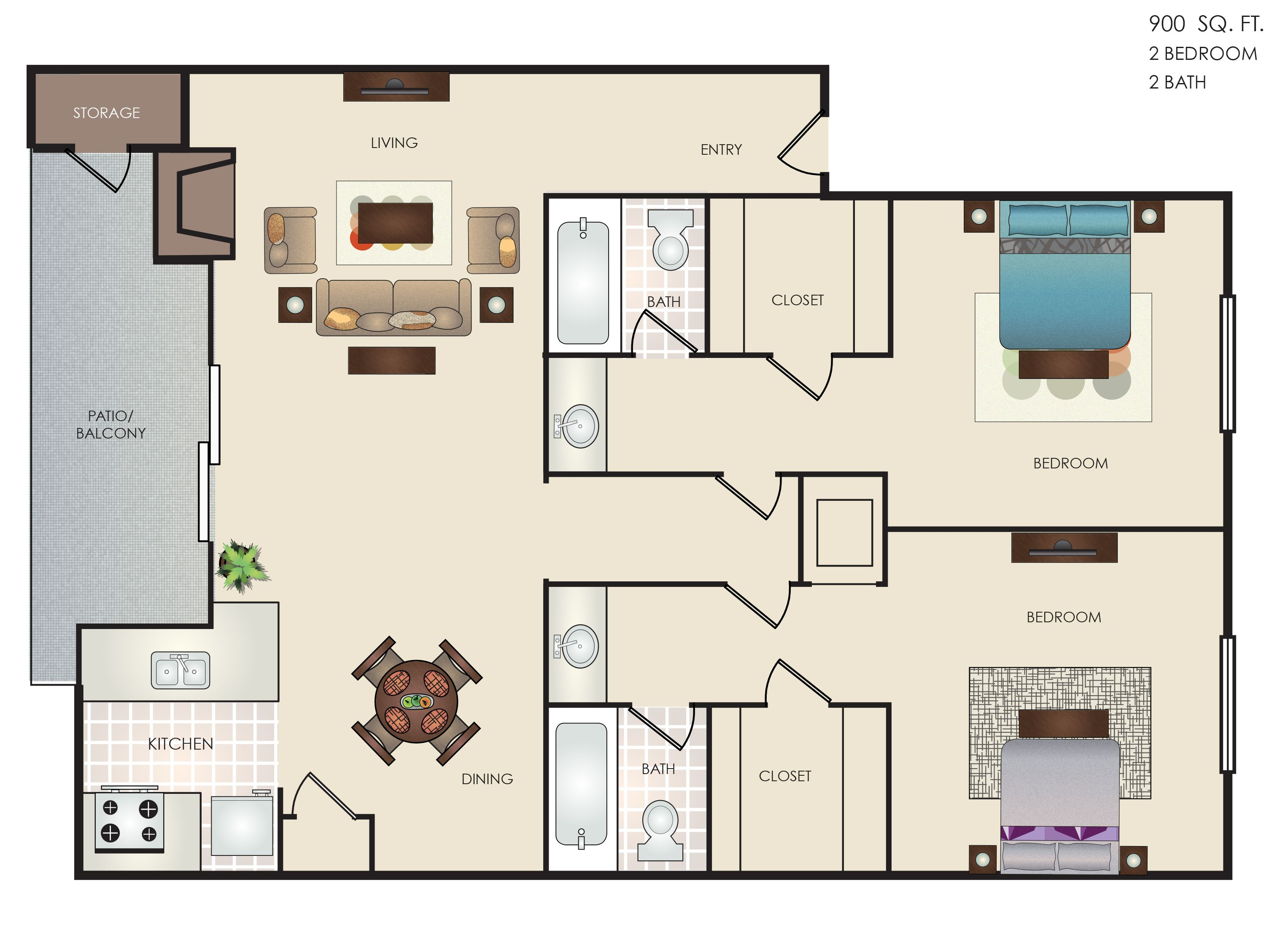 Pin By Altitude Apartment Homes On Floorplans Property Photos Small House Plans House Plans Floor Plans