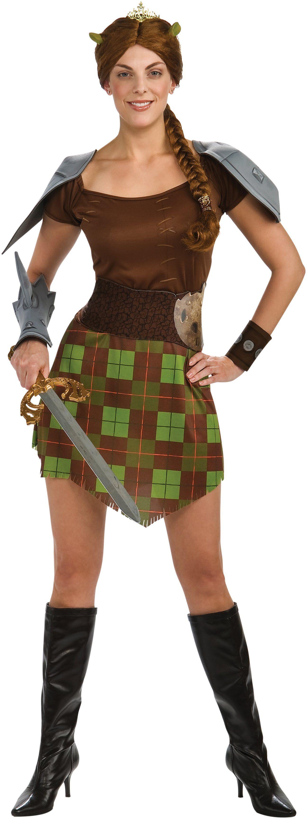 Warrior Princess Fiona Shrek Forever 2014 Halloween Costume Online ...