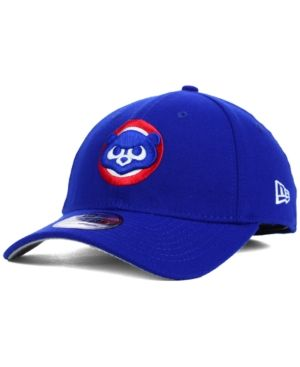 pretty nice 5c55c c7e35 New Era Chicago Cubs Core Classic 39THIRTY Cap - Blue L XL