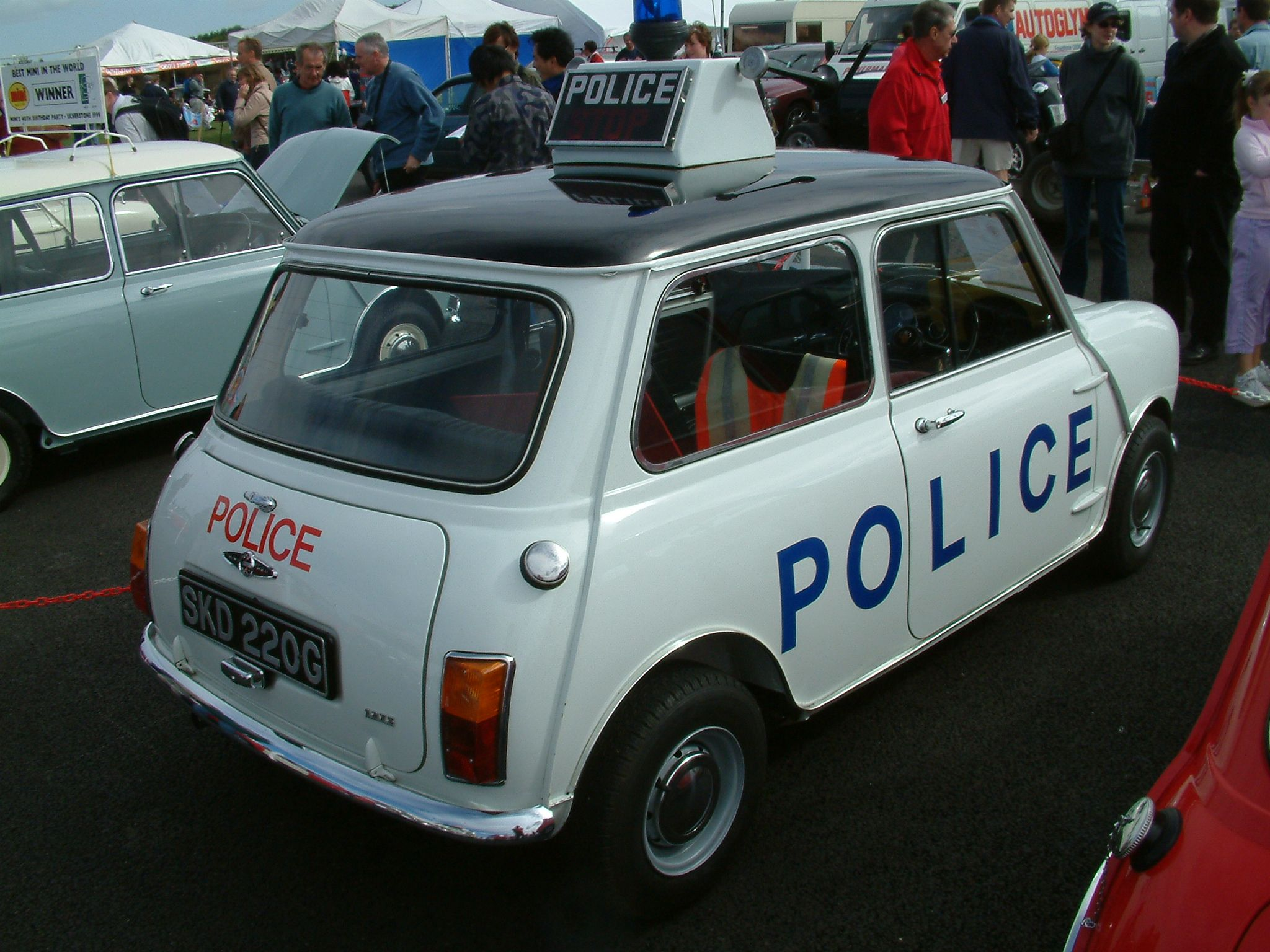 Liverpool police Cooper S