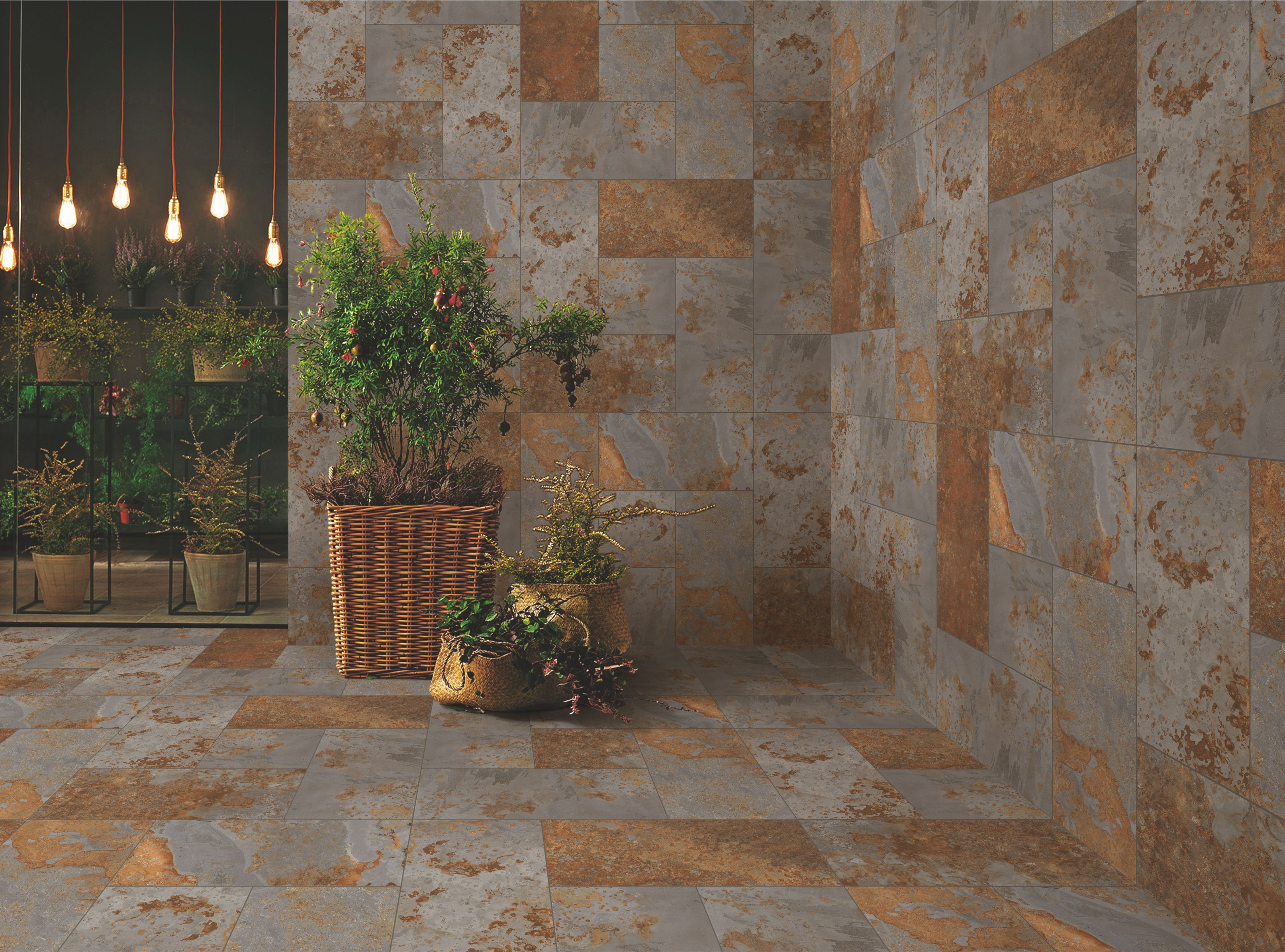 Product :Lavagna beige Size: 398x398mm & 398x800mm … | Exterior wall tiles,  Outdoor decor, Outdoor tiles