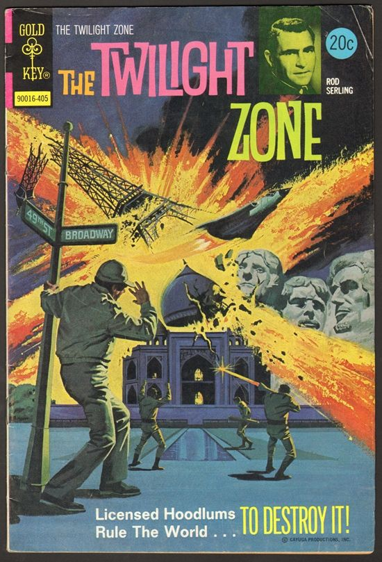The Twilight Zone Comic #56 Publisher: Gold Key Comics Date: May ...