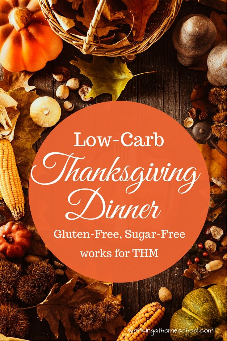 Trim Healthy Mama Thanksgiving with free printables | THM ...