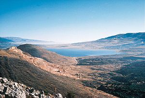 The Beqaa Valley (Arabic: وادي البقاع‎ / ALA-LC: Wādī l-Biqā', Lebanese: [bʔaːʕ]; also transliterated as Bekaa, Biqâ or Becaa; Armenian: Բեքայի դաշտավայր) is a fertile valley in east Lebanon. It is Lebanon's most important farming region.[1] Industry also flourishes in Bekaa, especially that related to agriculture.
