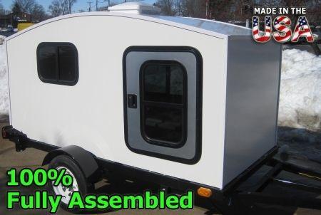 Camper Trailer Mini Camper Toy Hauler Wonadaygo 4 X 8 1 2 Person