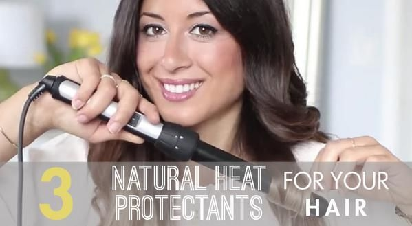 Top 3 Best #Natural #Heat #Protectants for your #Hair  @luxyhair