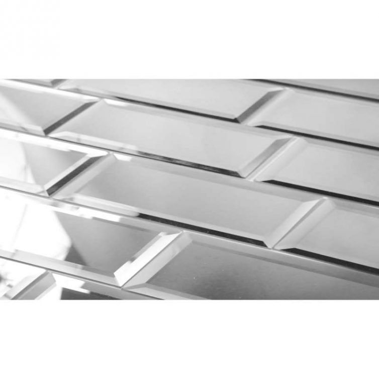 Reflections Glass Mirror Beveled Wall Tile Bv Tile And