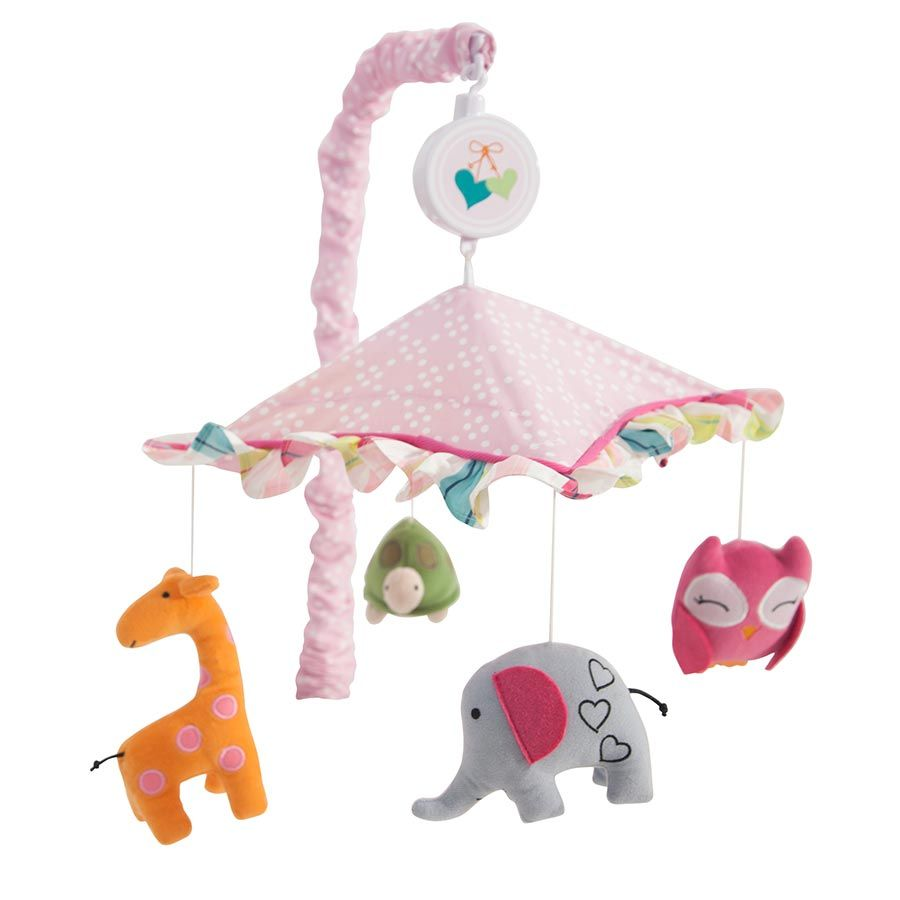 Mobile for crib babies r us - Lambs Ivy Sprinkles Musical Mobile Babies R Us Australia