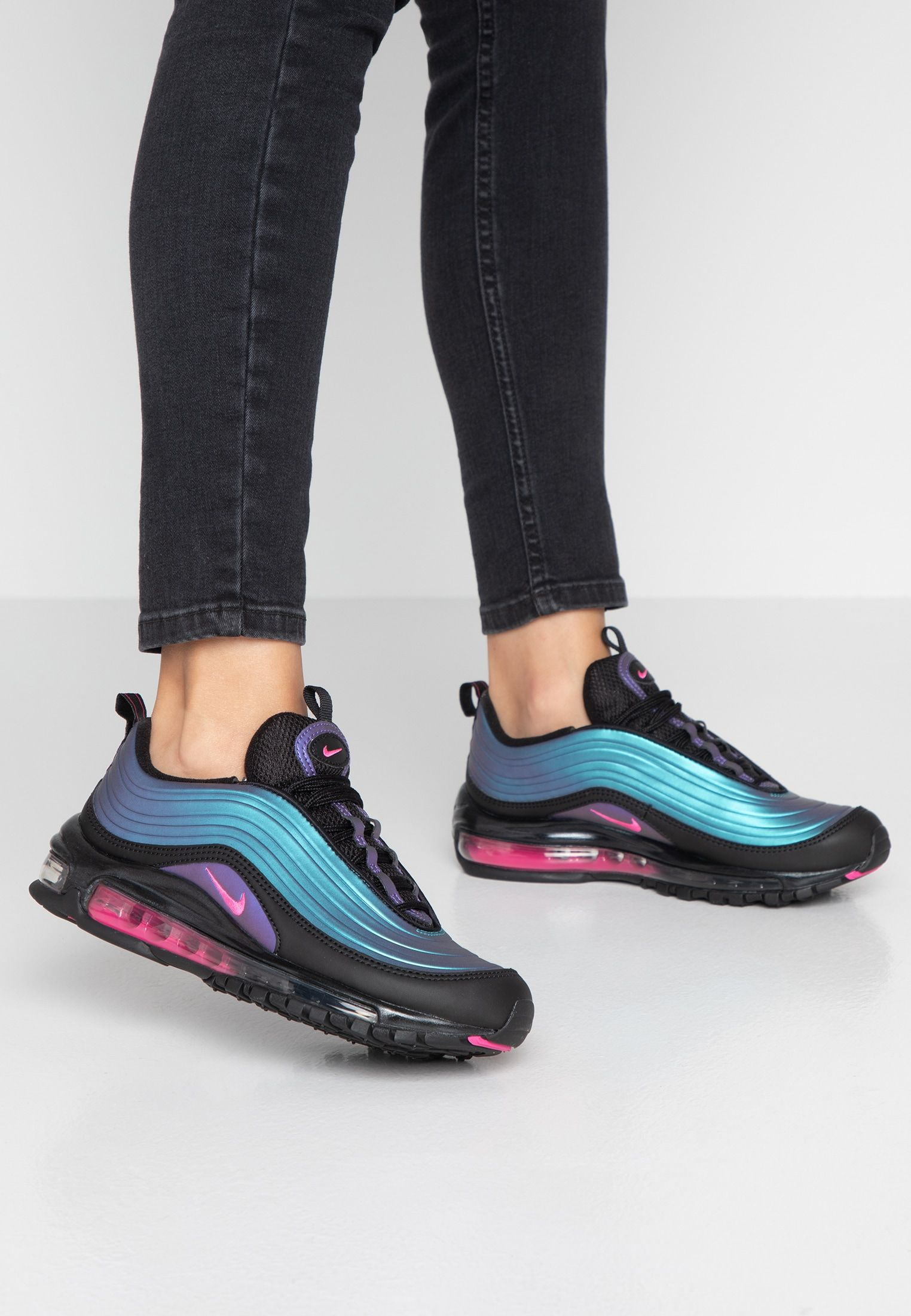 AIR MAX 97 RX Sneakers laag blackmulticolor @ Zalando