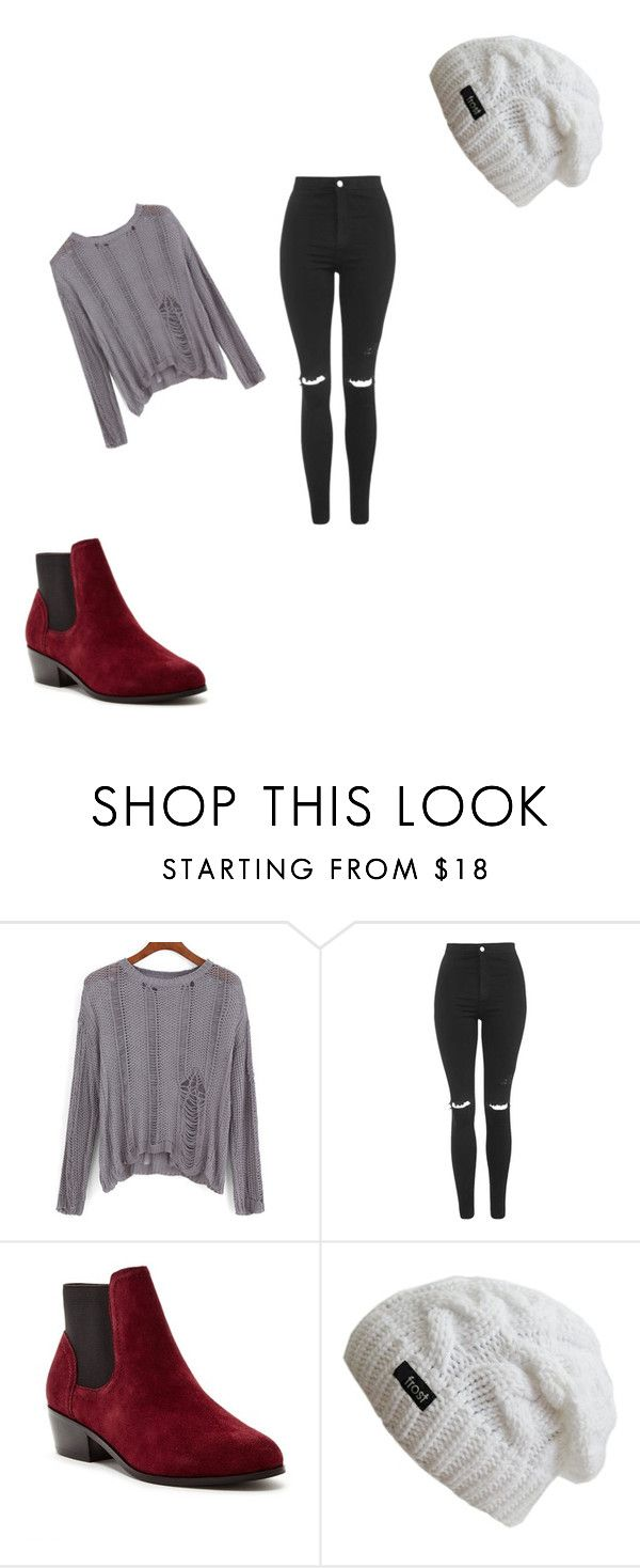 """""""Untitled #61"""" by kkes ❤ liked on Polyvore featuring moda, Topshop y Steven by Steve Madden"""